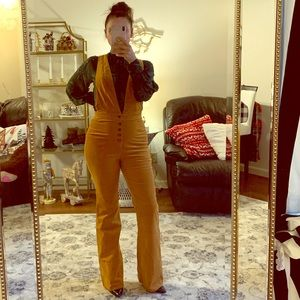 Forever21 corduroy overall